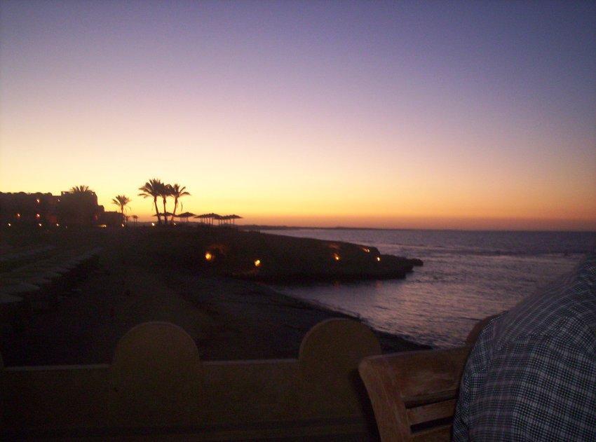 foto al tramonto in Tramonto dalla magica Egitto