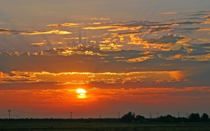 foto al tramonto in Tramonto da Ragusa
