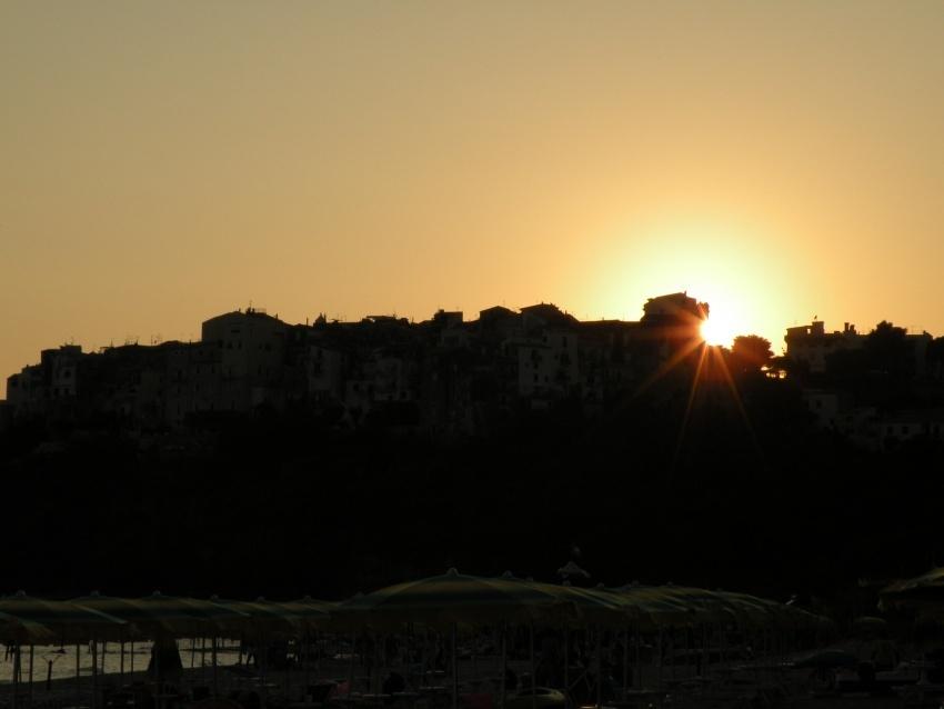 foto al tramonto in Il Tramonto su Sperlonga 1