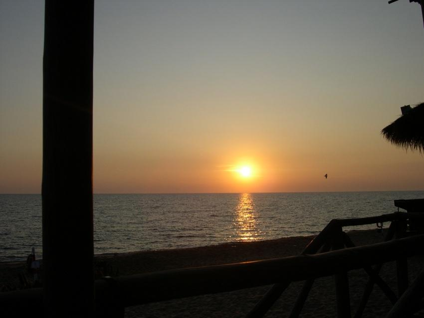 foto al tramonto in Un Tramonto da Sabaudia 3
