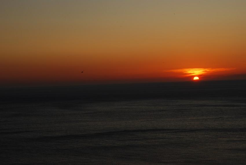 foto al tramonto in tramonto e mare mare mare