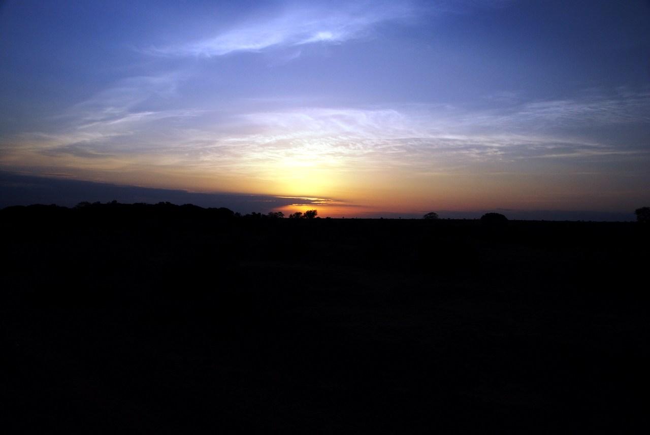 foto al tramonto in Tramonto dal Kenya