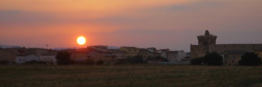 foto al tramonto in Tramonto Lucano da Venosa (PZ)