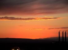 tramonto-centrale-nevada