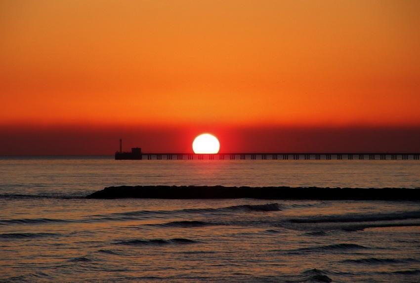 foto al tramonto in Il saluto del Sole