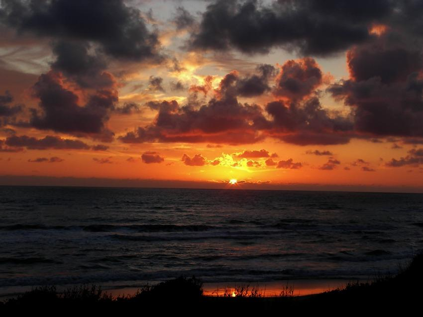 foto al tramonto in Tamonto con il sorriso