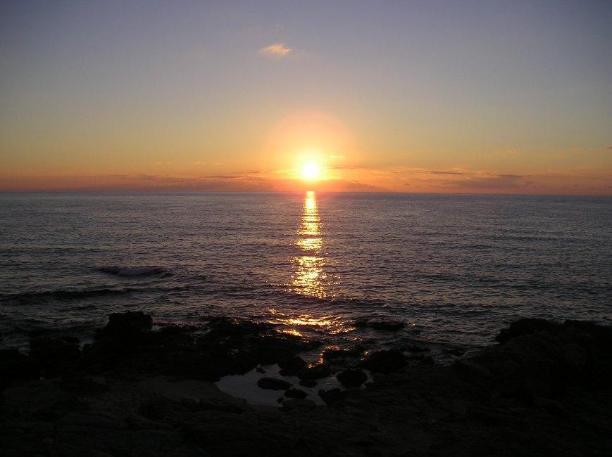 Accettate questo tramonto dalla Sardegna Costa Verde (PISTIS) con affetto a tutti gli