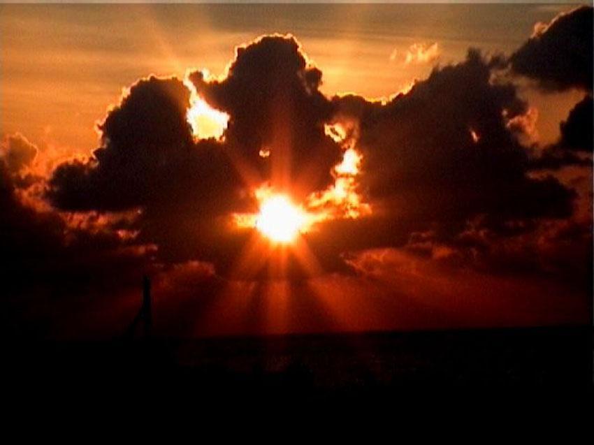 foto al tramonto in Un sogno avverato tramonto a capo nord