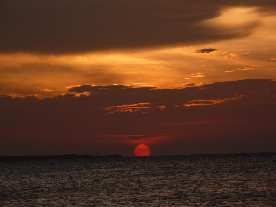 foto al tramonto in Zanzibar i colori indimenticabili di un tramonto
