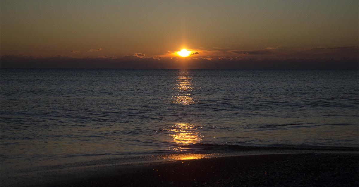 foto al tramonto in Tanti Auguri dal tramonto